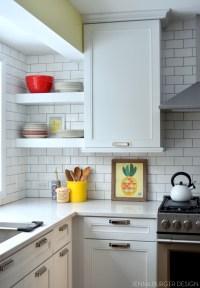 Subway Tile Kitchen Backsplash Installation - Jenna Burger