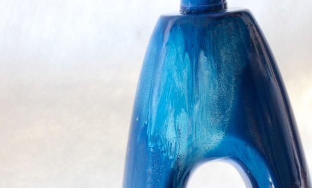 Light Purple Blue spray paint drip Jenna Citrus ArtIMG_2774