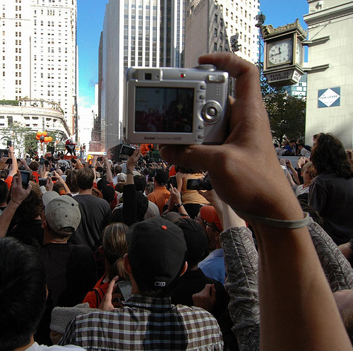San Francisco Giants World Series Victory Parade – I couldn't see, but I was there