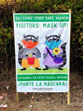 Mask Up Vashon Raccoons