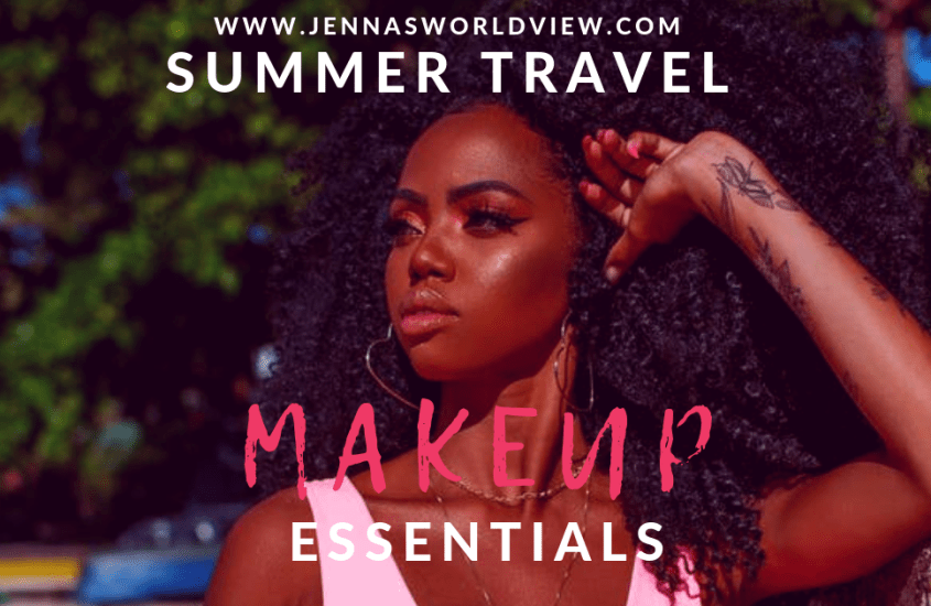 summer travel makeup essentials