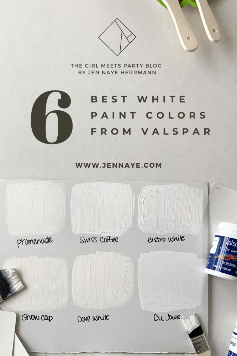 Valsap Best White Paint Sample Swatches