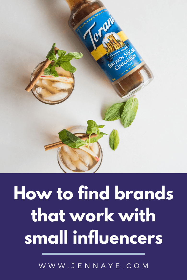 brands that work with small influencers