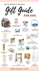 jen and jessies holiday 2020 gift guide for kids