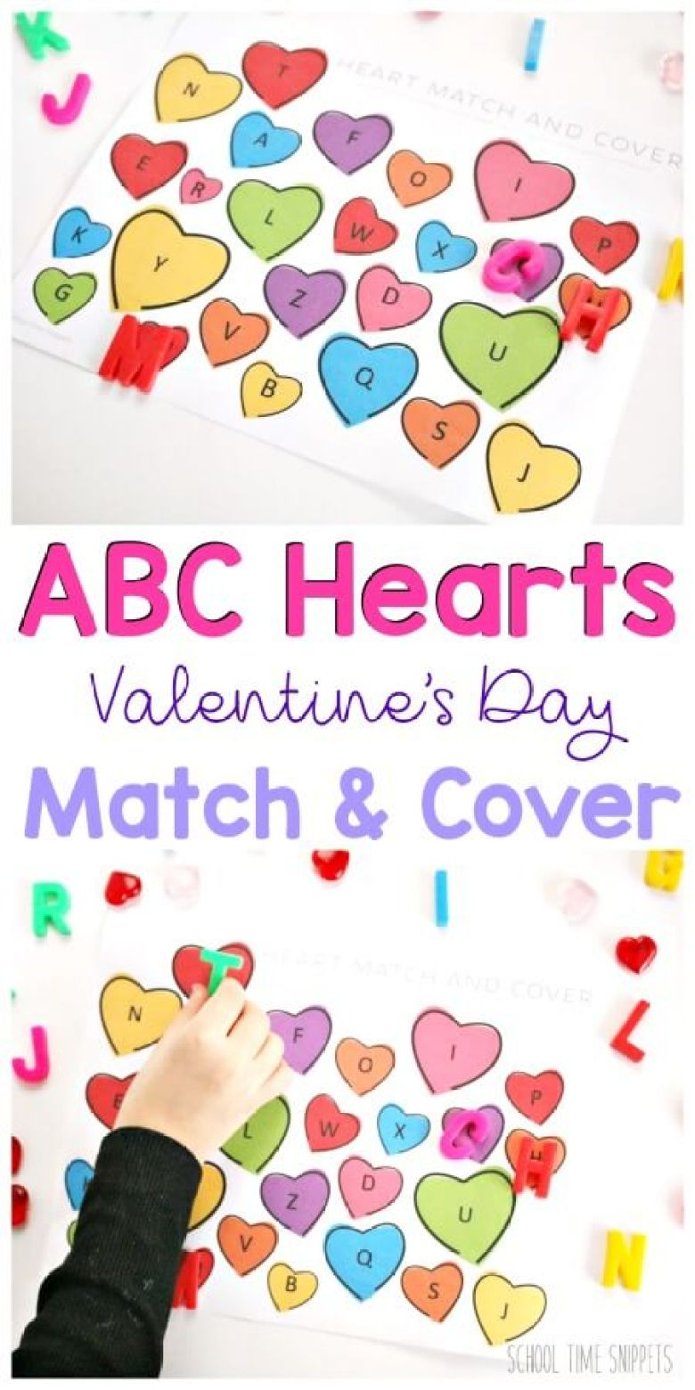 easy toddler valetines day activities