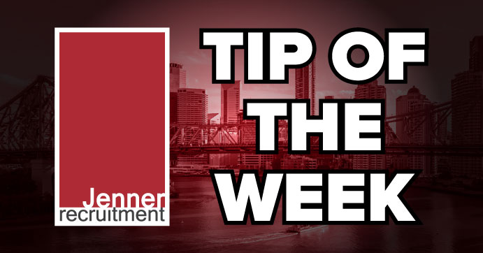 Job Search - Tip Of The Week
