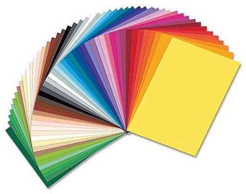 Rainbow Coloured Paper Kit