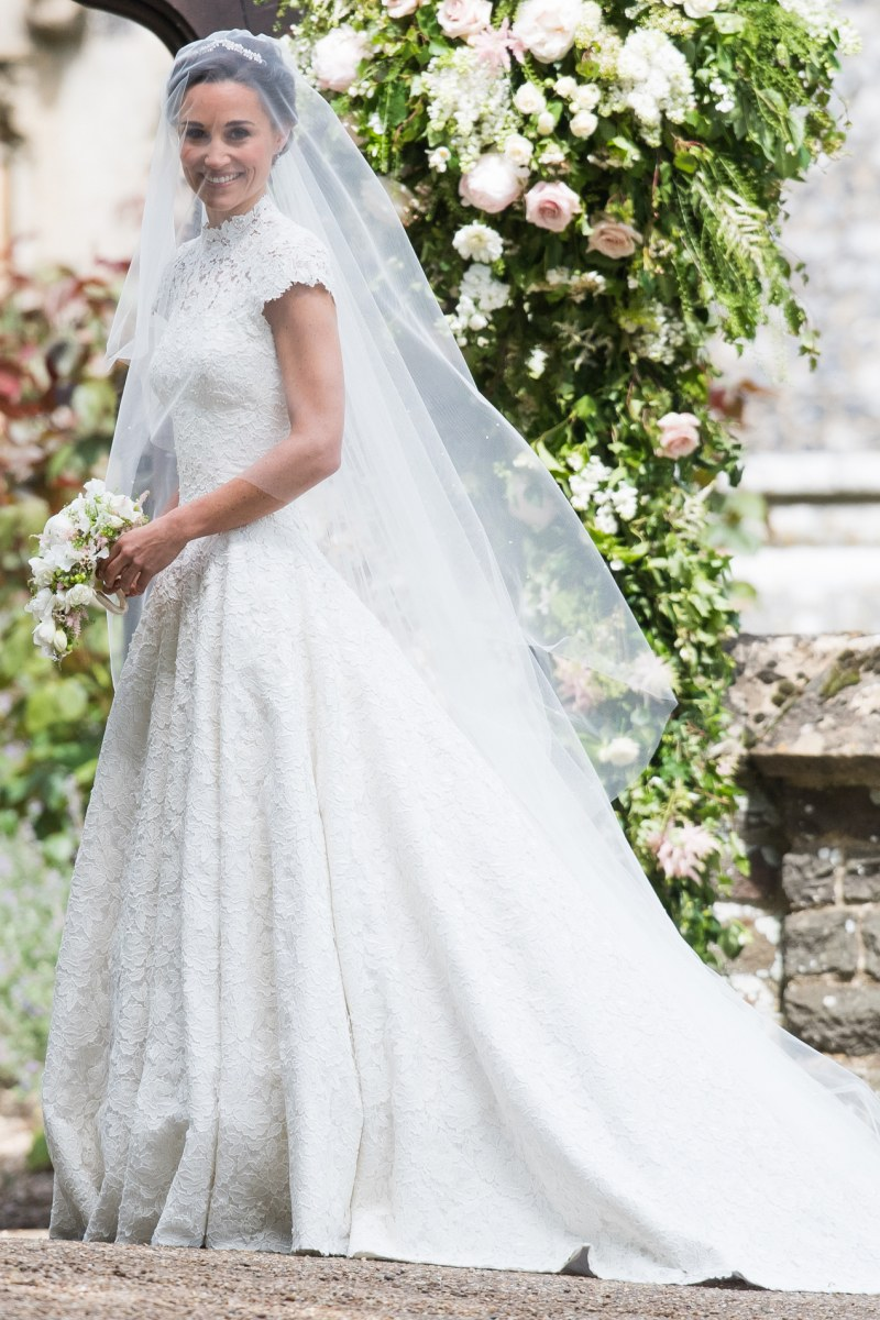 Pippa Middleton's wedding dress.