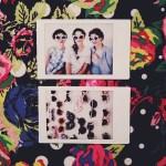 Behind the scenes polaroid
