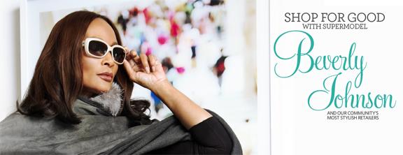 Portrait of Beverly Johnson for Make It Better, Shop for Good