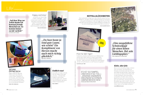 Women's Health Germany, Gift Article