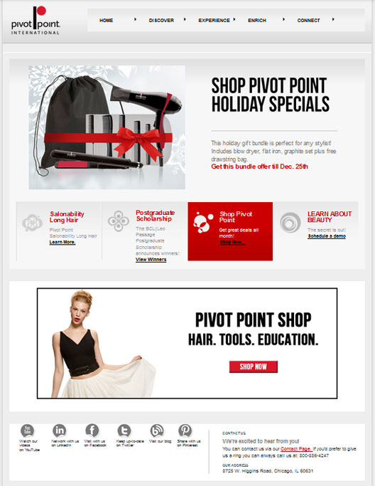 Pivot Point International Homepage