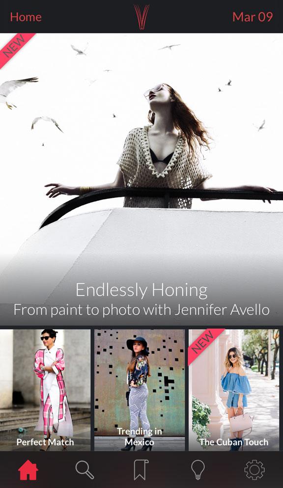 Revuu App Homepage