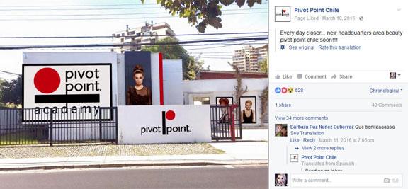 Pivot Point Chile Billboards