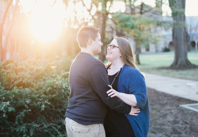 Ann Arbor Engagement Photos | Kayla & Melissa