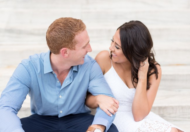 Downtown Detroit City Engagement Photos | Joe & Courtney