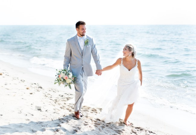 An Elegant, Beachy Lake Michigan Wedding in Holland | Brooke & Jake