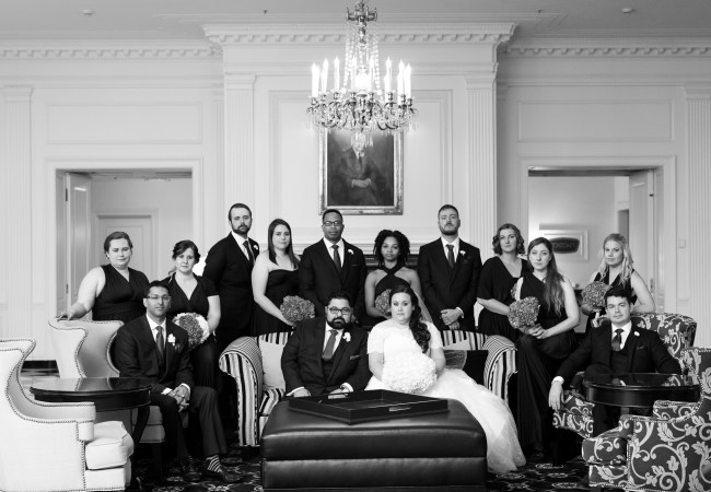 Dearborn Inn Alexandria Ballroom Wedding Photos | Emily & Sagar