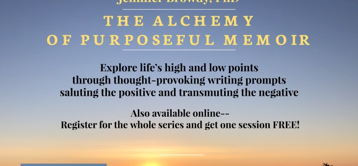 The Alchemy of Purposeful Memoir: Seeking Joy