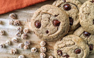 Tiger Nut Chocolate Chip Cookies (Nut Free, Paleo)