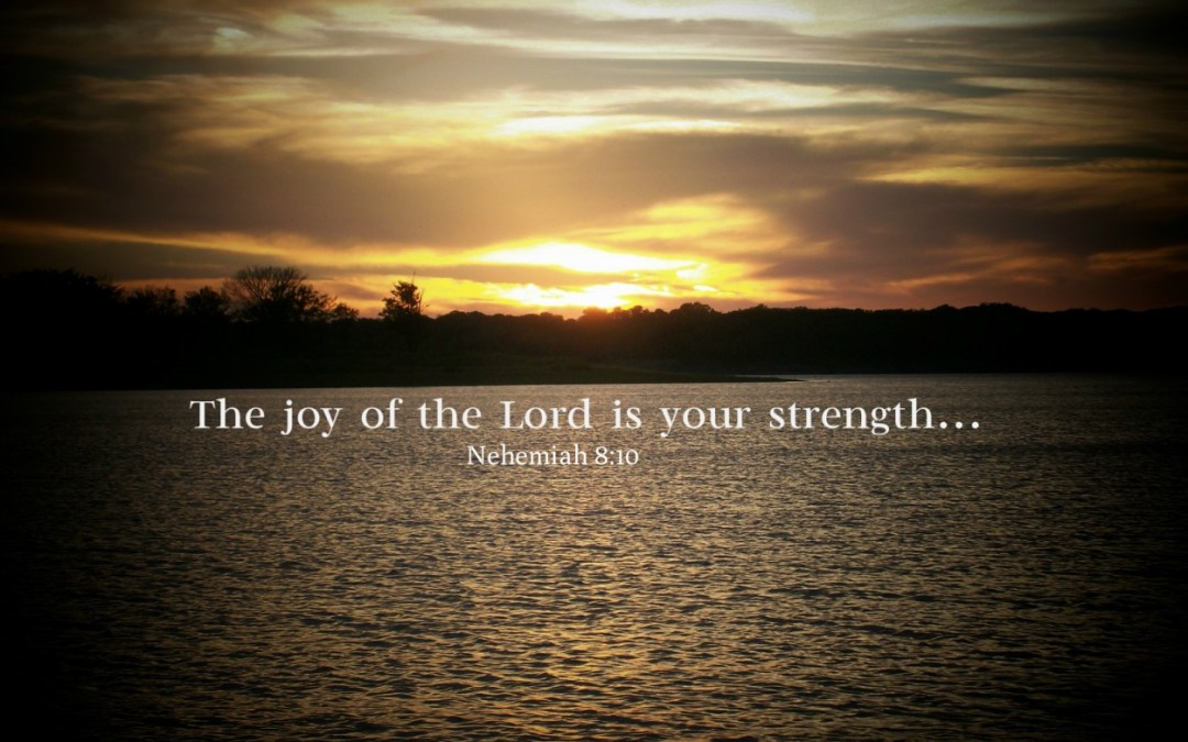 When life fails to glisten: the joy of the Lord