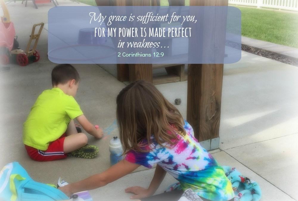 Grace: I'm not perfect