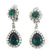 Emerald Ciner Earrings | Vintage Jewellery | Jennifer ...