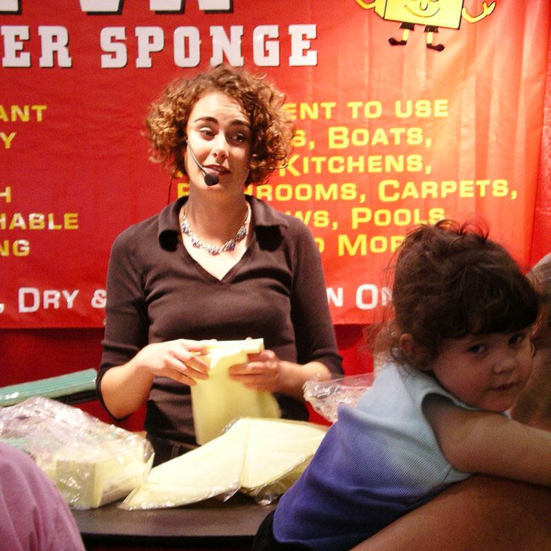 sometimes I sling super sponges