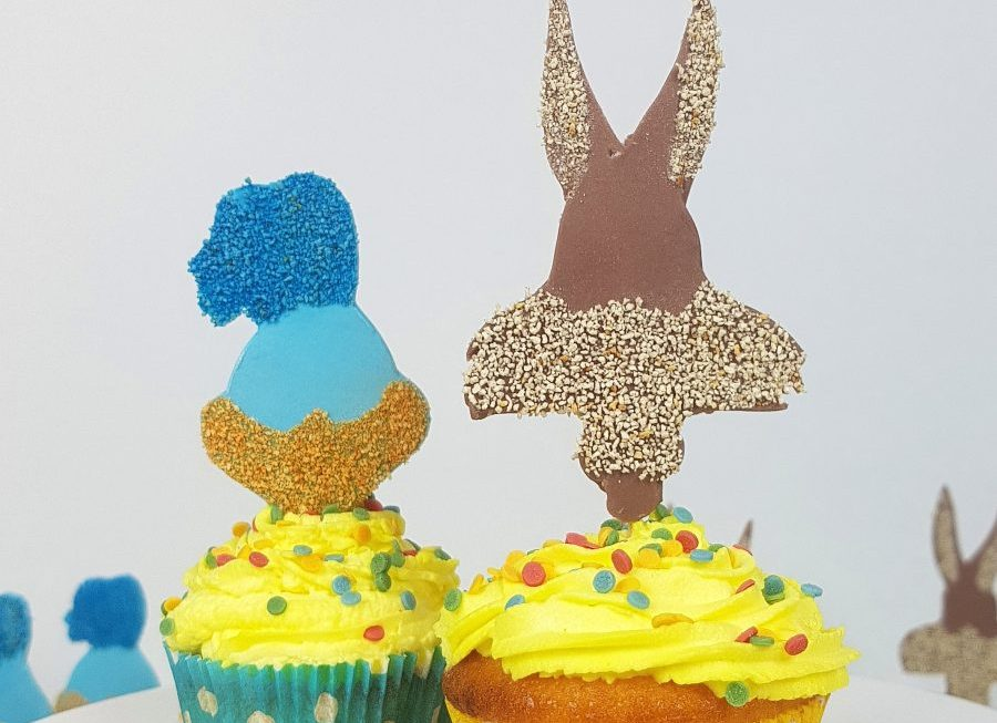 Tutorial Cupcake Topper – Roadrunner & Koyote