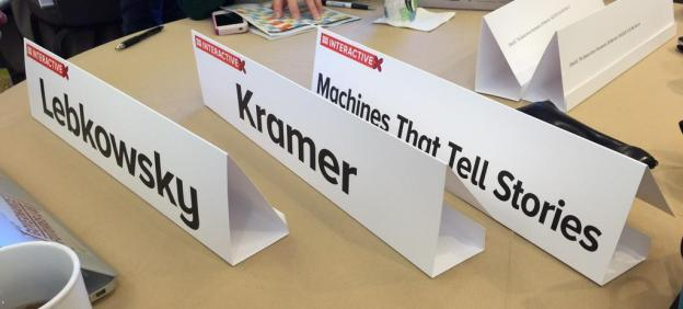 Machines That Tell Stories: SXSW 2015