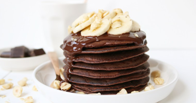 NUTELLA BANANEN PANCAKES