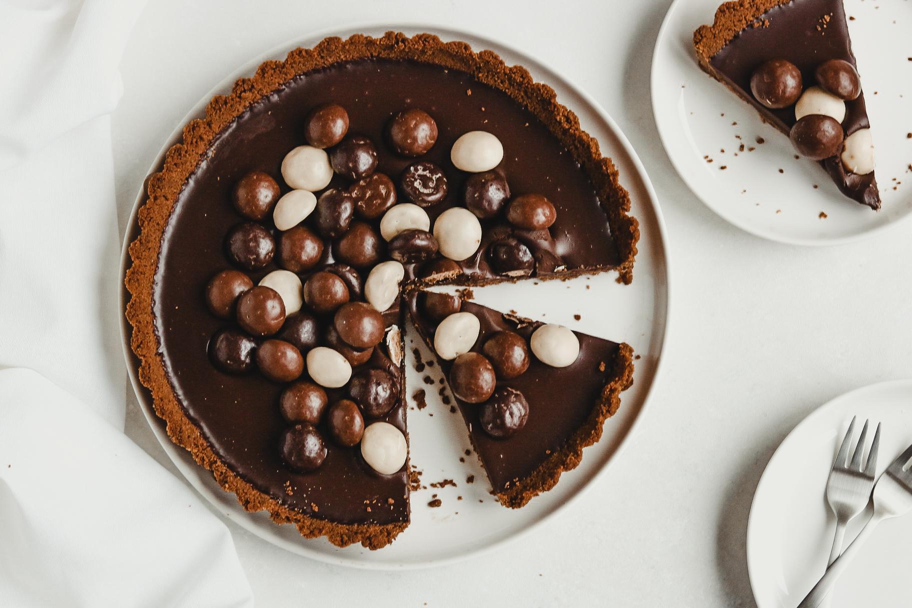Pepernoten Chocolade Taart