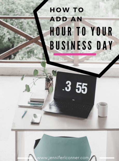 How to Add an Hour to Your Business Day