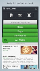 One view of Evernote