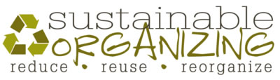 Sustainable Organizing Logo