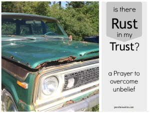 prayer to overcome unbelief