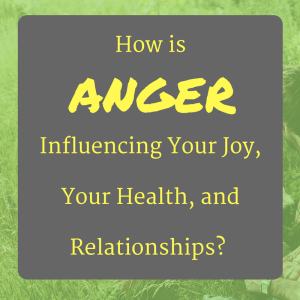 the influence of anger