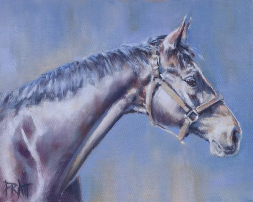 horse art, Jennifer Pratt, equine art,
