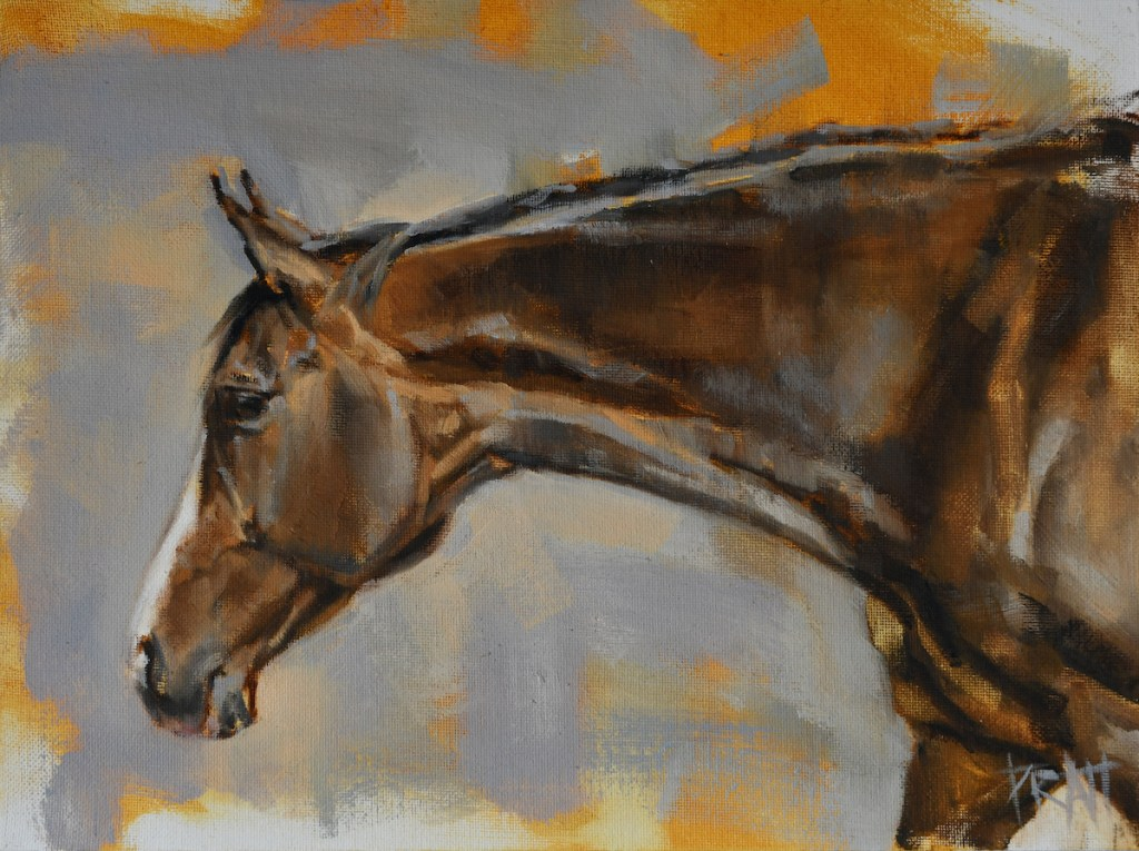 horse-art-oil-painting