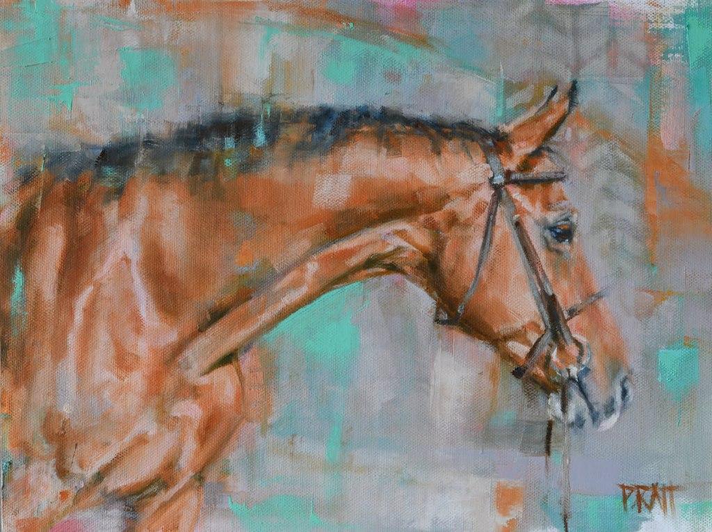 equine art-horse-painting