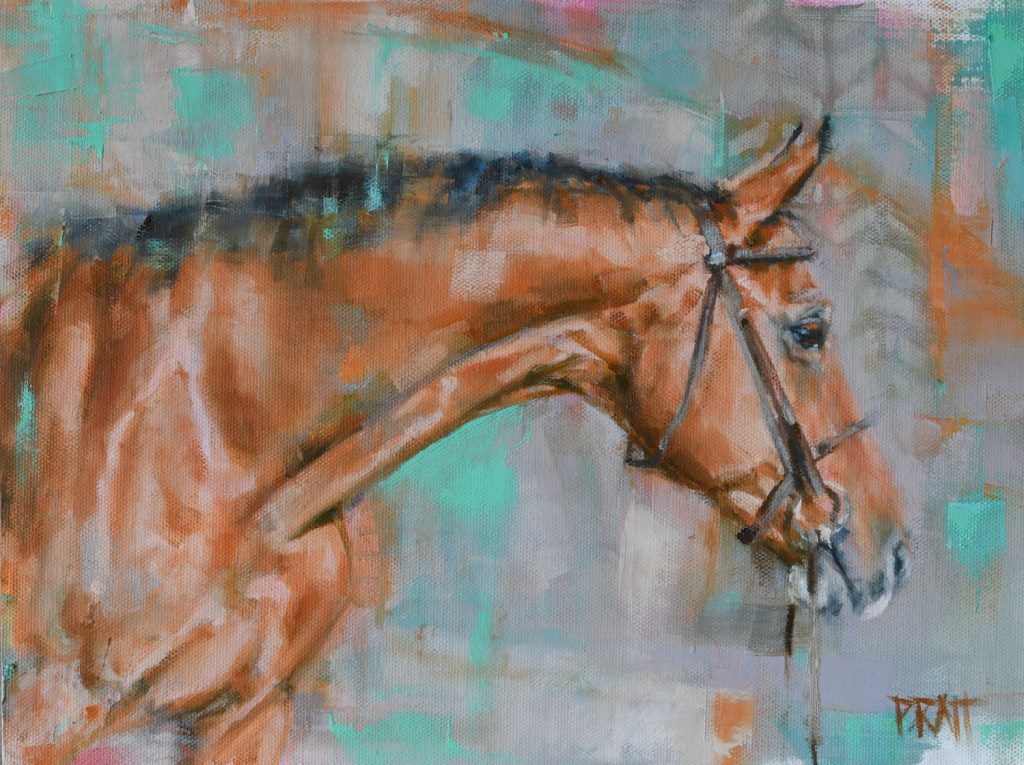 equine art-horse-painting