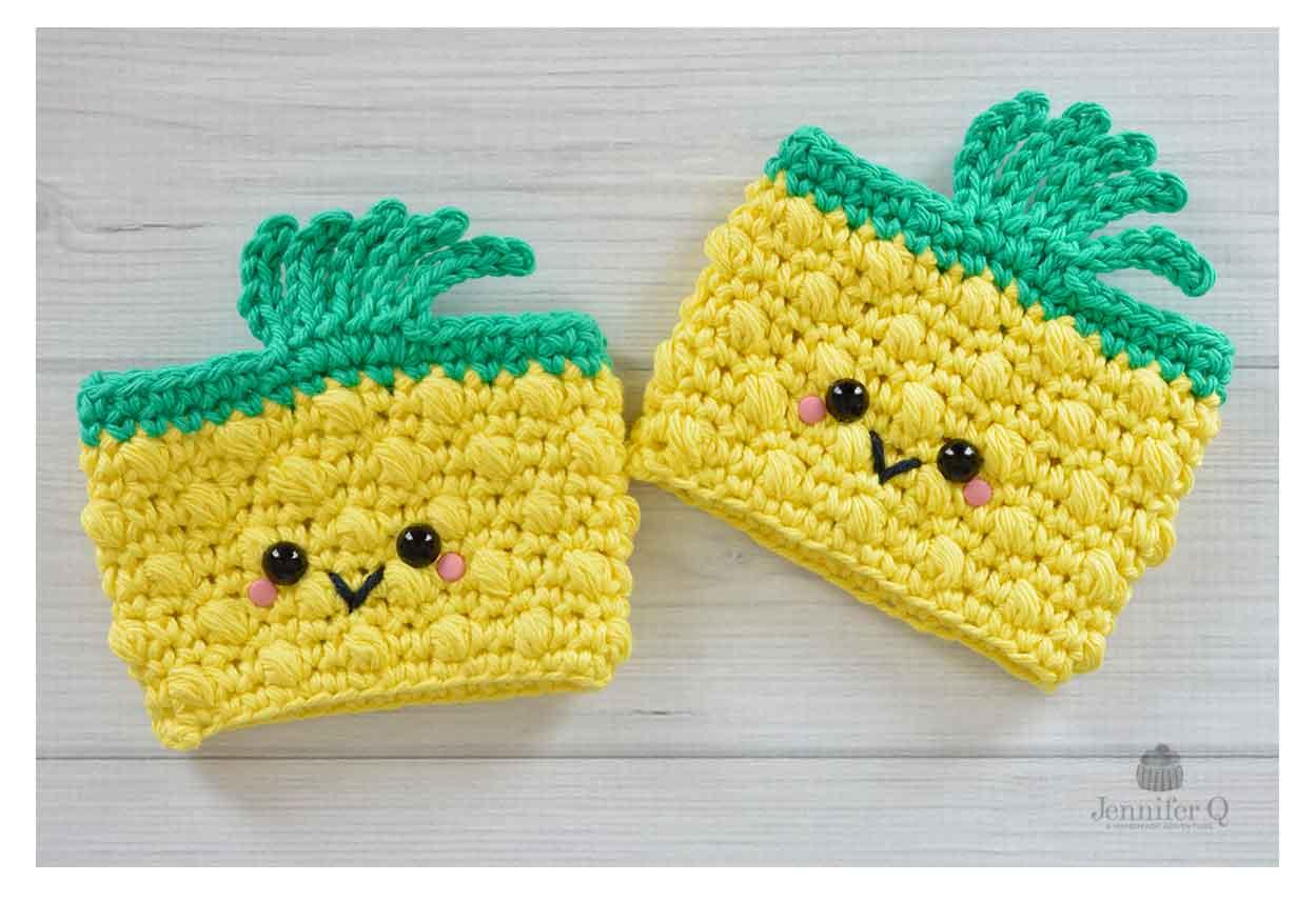 Pineapple Crochet Cup And Mug Cozies Jennifer Q