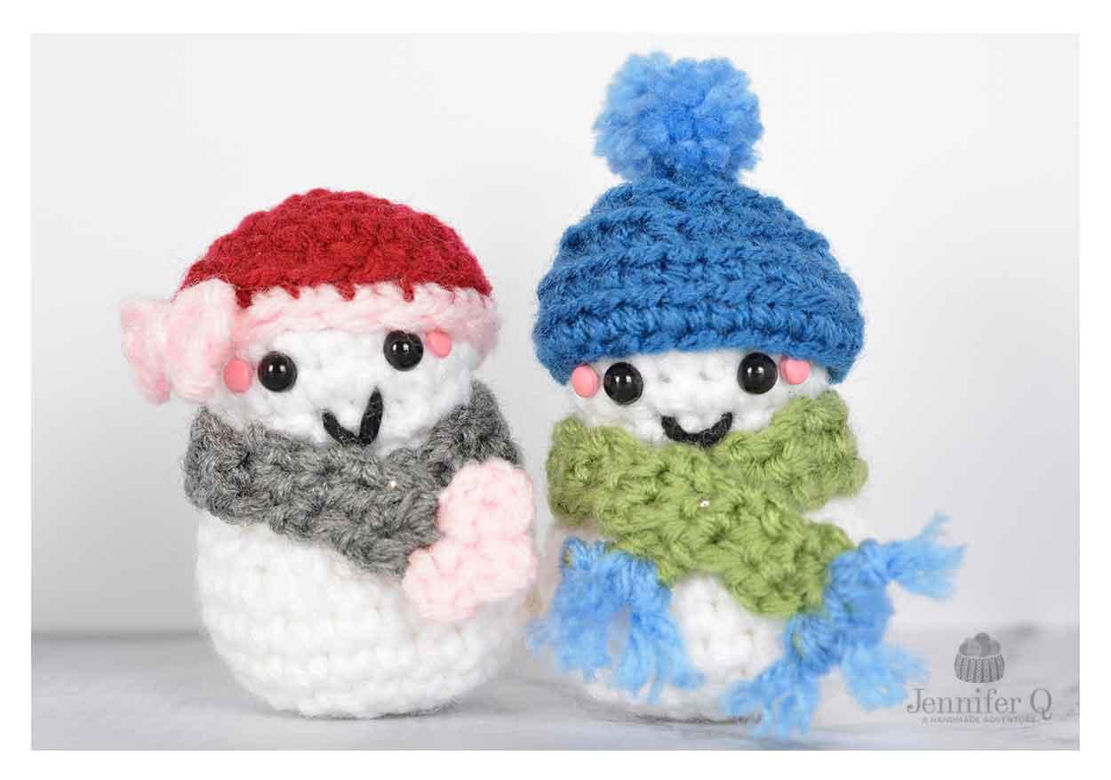Amigurumi Christmas : Amigurumi christmas frosty jennifer q a handmade adventure