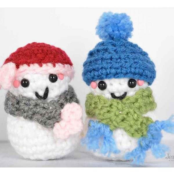 Amigurumi Christmas Frosty