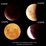 Lunar Eclipse April 4, 2015 – Collage 1