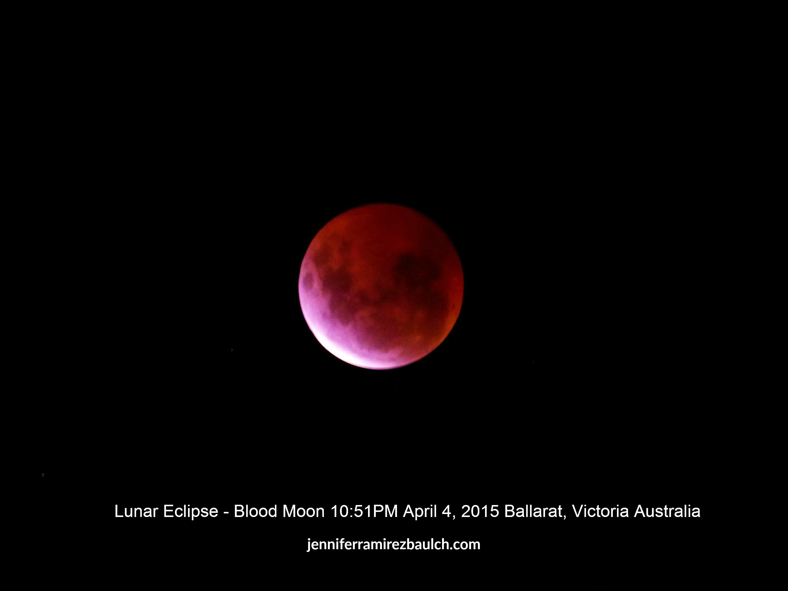 Blood Moon April 4, 2015