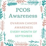 Teal Ribbon Awareness September 2016