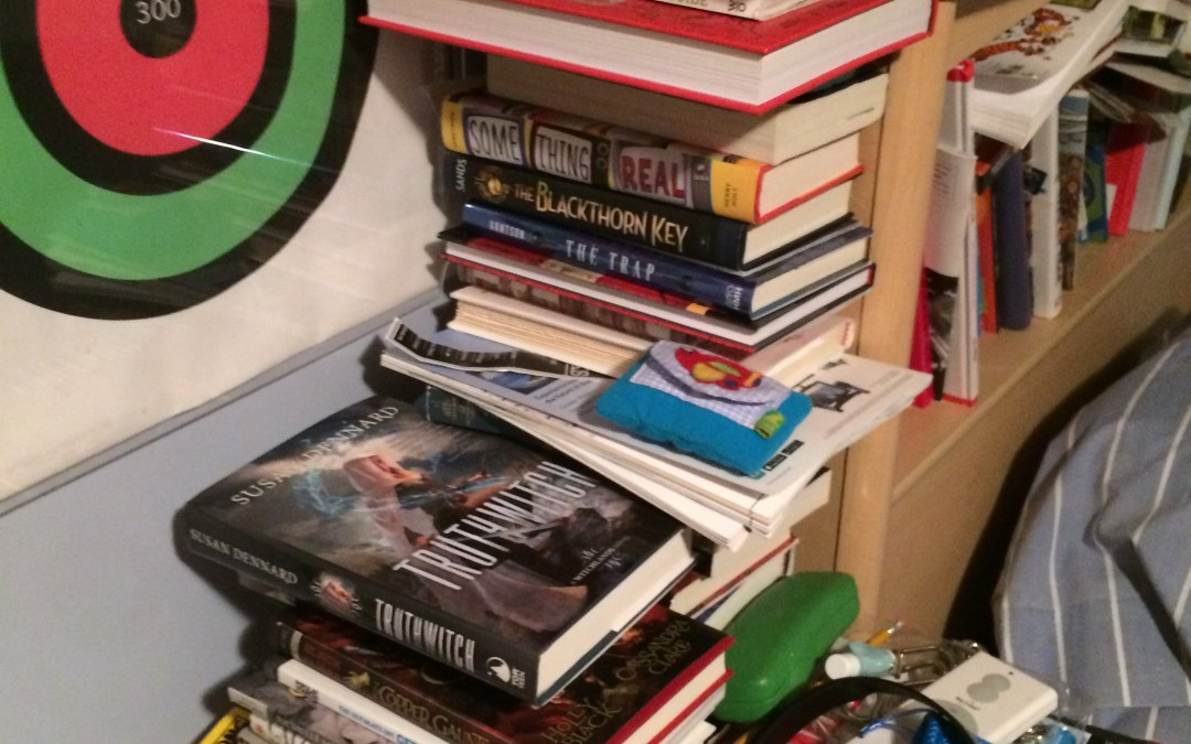 Thursday's Things: Book Stacks