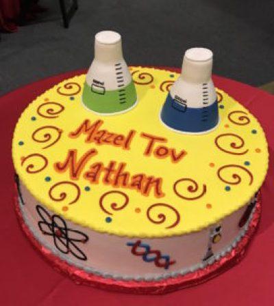 Bar Mitzvah Cake circa 2016