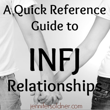 Infj dating another infj
